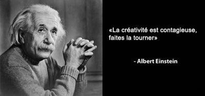 Citation creativite - Albert Einstein