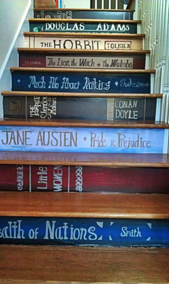 Idée déco : des escaliers ludiques! | Le Magazine MieuxEnseigner