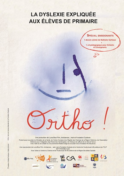 """Résultat de recherche d'images pour """"Ortho ! : la dyslexie expliquée aux élèves de primaire"""""""