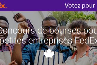 Votez pour MieuxEnseigner au Concours de bourses pour petites entreprises FedEx