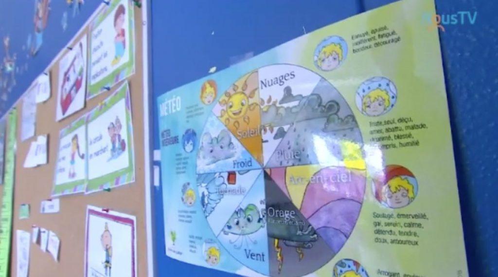 Un magnifique documentaire sur la pratique de la pleine conscience à l'école via la météo intérieure