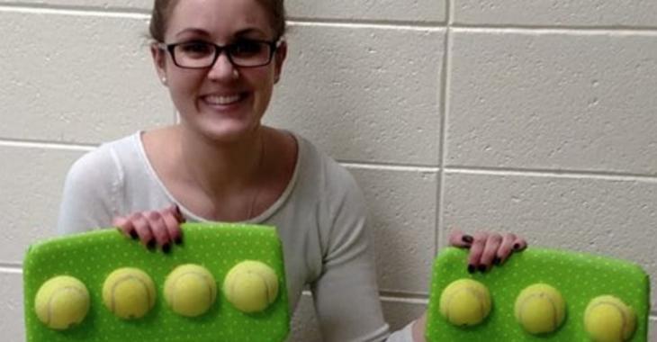Cette enseignante change complètement la vie des enfants de sa classe grâce à des balles de tennis!